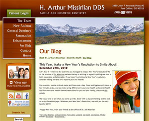Dr. Missirlian's blog