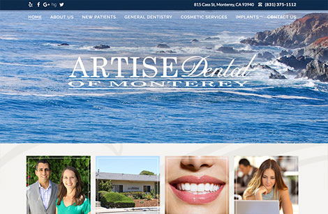 Artise Dental of Monterey