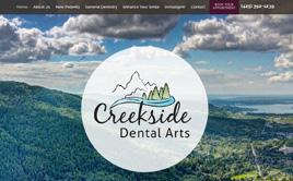 creeksidedentalarts.com