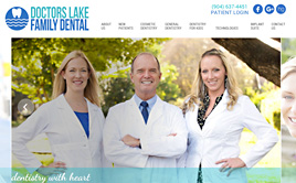 doctorslakefamilydental.com