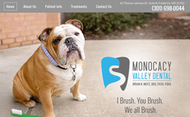 monocacyvalleydental.com